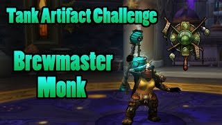 Brewmaster Monk - Tank Mage Tower Artifact Challenge