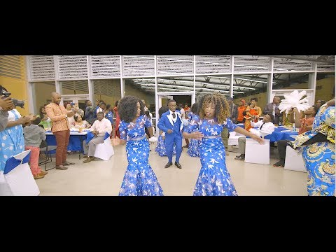 Kobinali and Beatrice Congolese traditional wedding(film by GANZAIMAGE.COM)