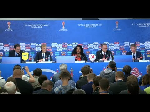 LIVE: Mutko speaks at opening press conference for FIFA Conf