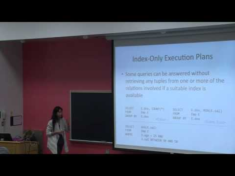 Index Selection and Query Evaluation | Lecture 36 | CMPSC 431W Database Management Systems