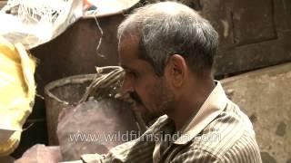 Making diyas for Diwali requires precision - Paharganj, Delhi