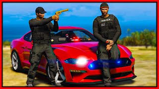 GTA 5 Roleplay - I BECOME POLICE DETECTIVE | RedlineRP