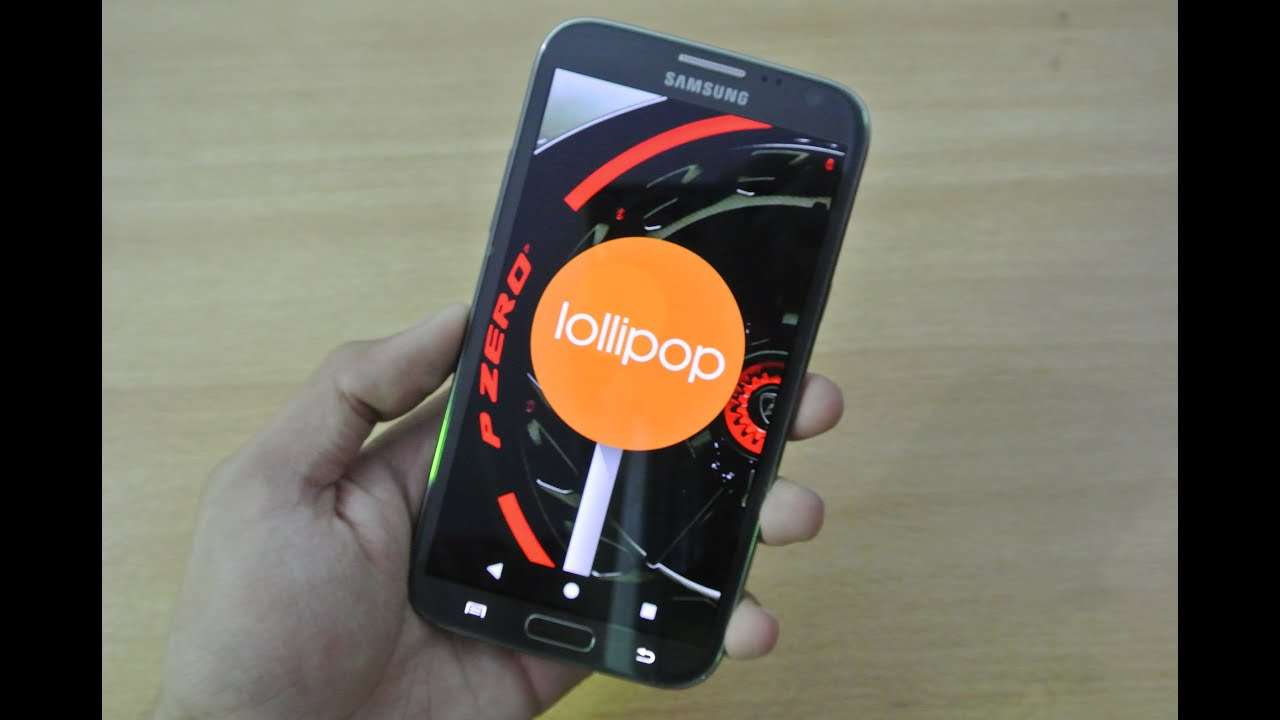 How To Update Galaxy Note 2 On Android 5 1 1 Lollipop CM12 1 HD