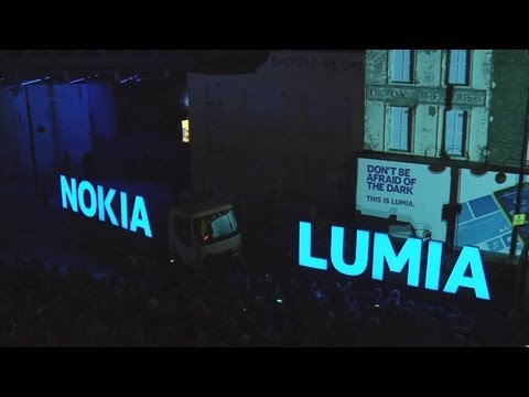 Nokia Lumia lights up London with deadmau5