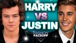 Harry Styles vs. Justin Bieber: Best Style?? - Fashion Faceoff Guys Edition 2014