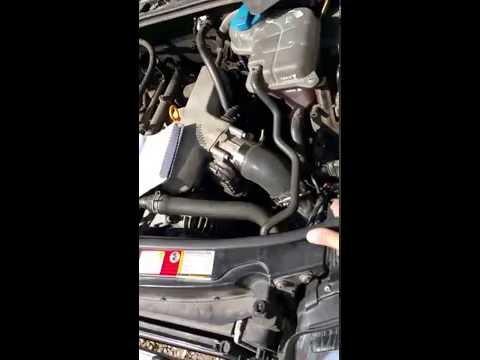 Audi B6 A4 1.8t front mount intercooler install