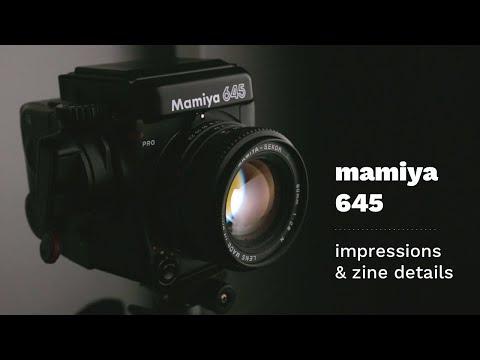 My Favourite Medium Format Camera - Mamiya 645 Pro Impressions & Zine Details