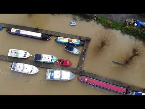East Farleigh River Medway Flooding 2019