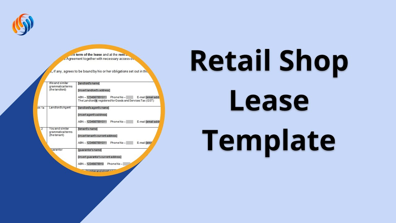 Australian Retail Leasing forms