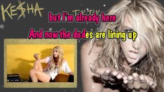 Ke$ha - TIК TOК (Karaoke)