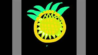 Drawing A pineapple!!!