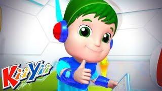 детские песни Семья Пальчиков часть 3 Еще KiiYii мультфильмы для детей
