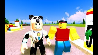 Buying Our New Car - Roblox Gas Station Simulator with Panda