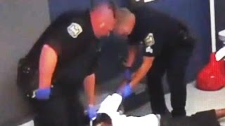 Cops Strap Man To Chair And Beat Him Unconscious And Blind (VIDEO)