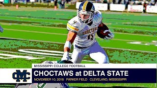 Football: Choctaws at Delta State