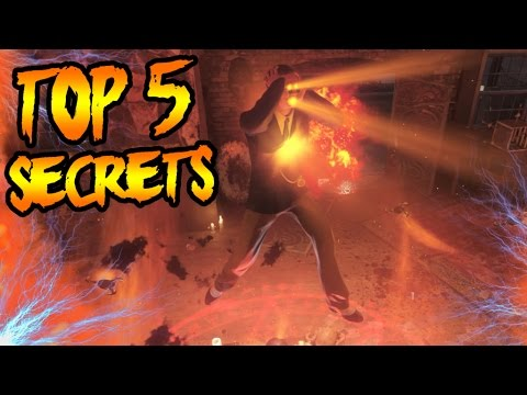 Top 5 SECRETS You Didn't Know About SHADOWS OF EVIL! Black Ops 3 Zombies  TOP 5 EASTER EGGS