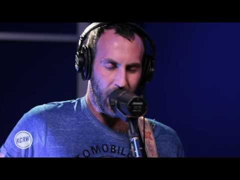 "Preoccupations performing ""Anxiety"" Live on KCRW"
