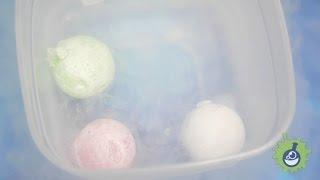 Полимерные шарики (ОРБИЗ, ORBEEZ) в жидком азоте! Что с ними будет?(, 2016-08-30T07:37:13.000Z)