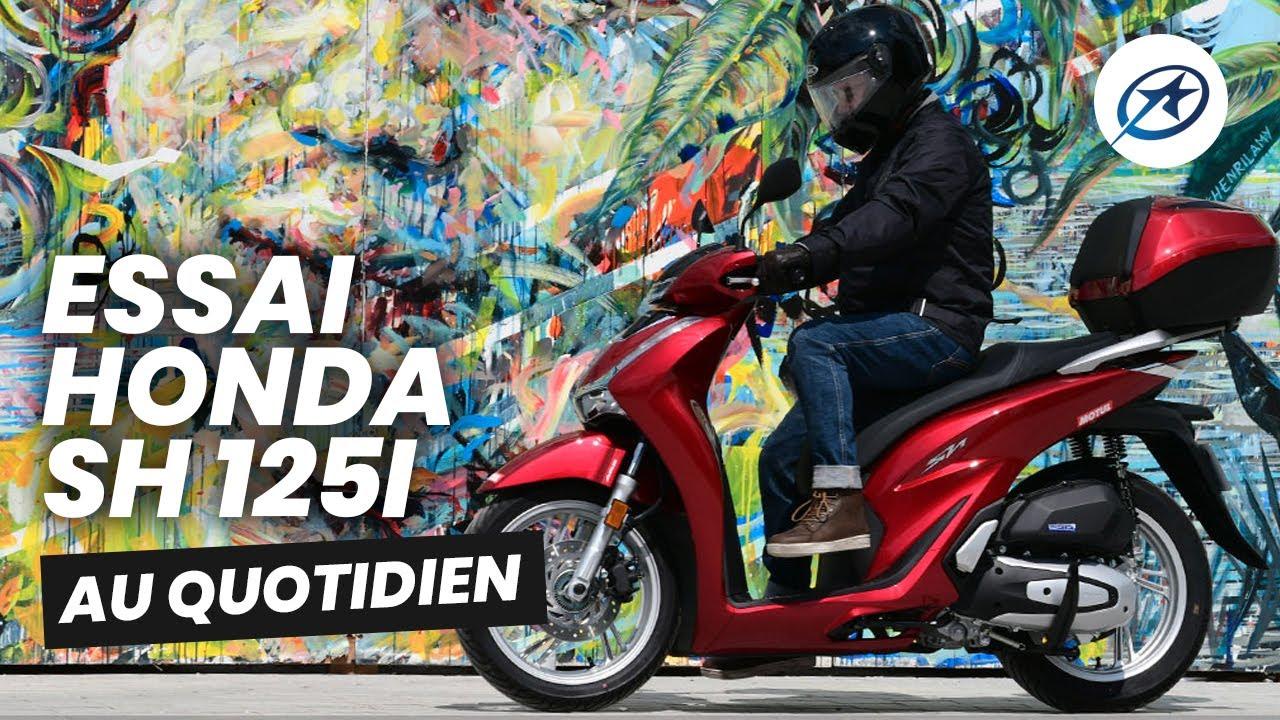 Essai scooter Honda SH 125i (2020)