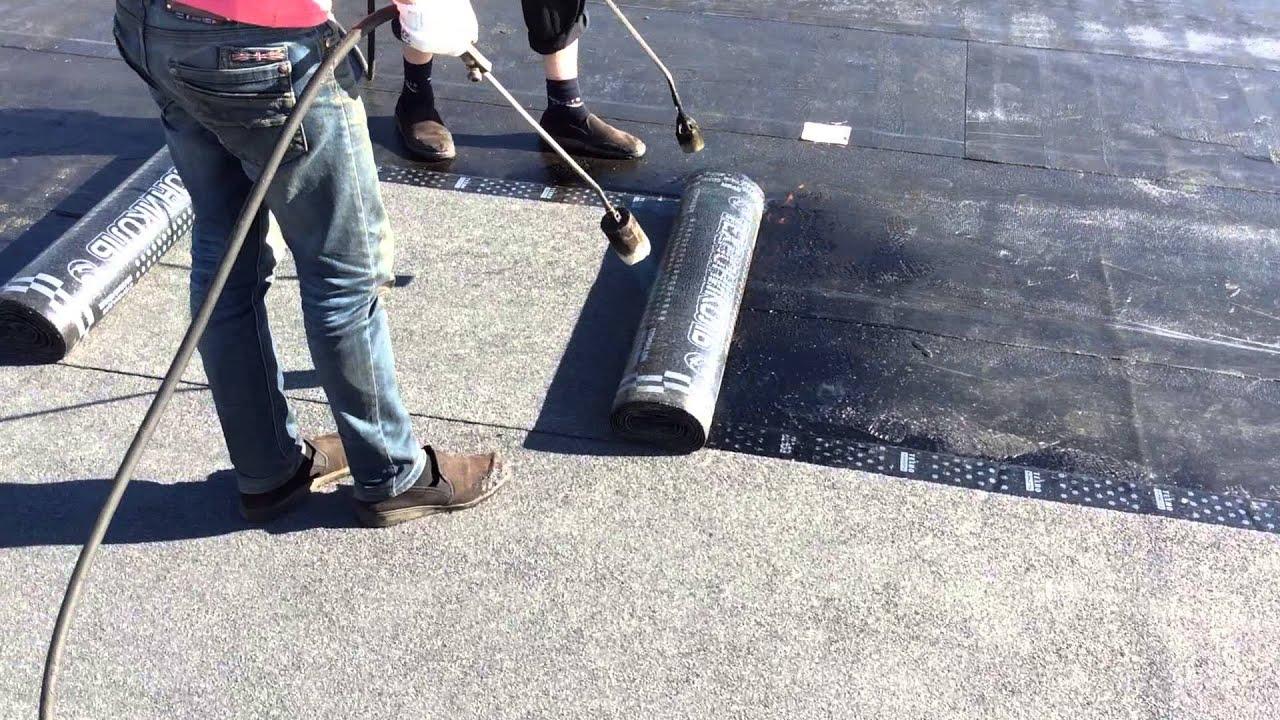 точно стоит как крыть крышу рубироидом гаражи как можно