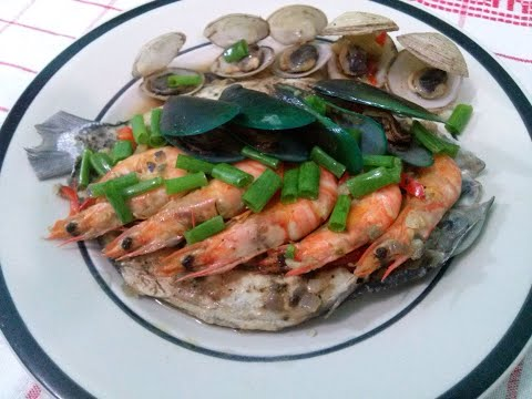 4 Combination Seafoods Blend!!! A fine dining taste at low cost