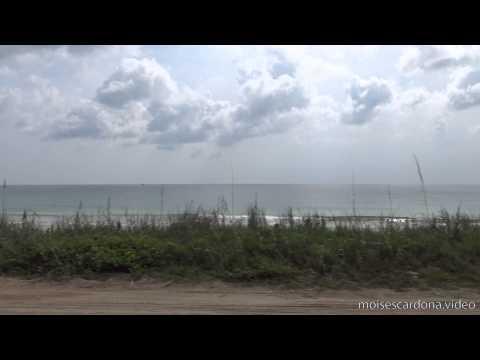 [4K] Beverly Beach / Palm Coast View (Florida, USA)