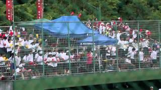 あまちゃん地元、 岩手は遠野の野球大会での応援 (遠野中)の様子。 ちな...