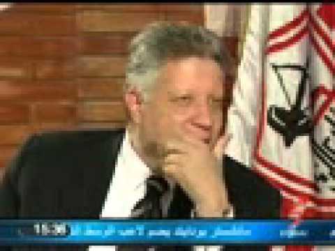اضحك مع مرتضى منصور يستهزأ بعادل امام ويصفه بالهلفوتmp4