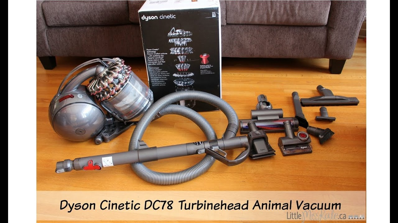 Dyson Cinetic DC78 Turbinehead Animal Vacuum Review