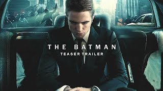 The Batman (2021) Teaser Trailer Concept   Robert Pattinson, Matt Reeves Dc Movie