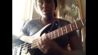 Gospel bass guitar - thank you lord tutorial