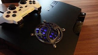 PS3 Slim -Case Cooling Mod- Quick Tutorial By:NSC