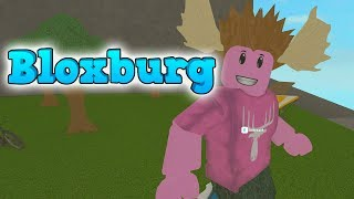 VISIT OF THE MANLY MOOSE! -ROBLOX Bloxburg English Ep 6