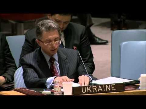 UN Security Council: The speech of Ukrainian representative on March 15.