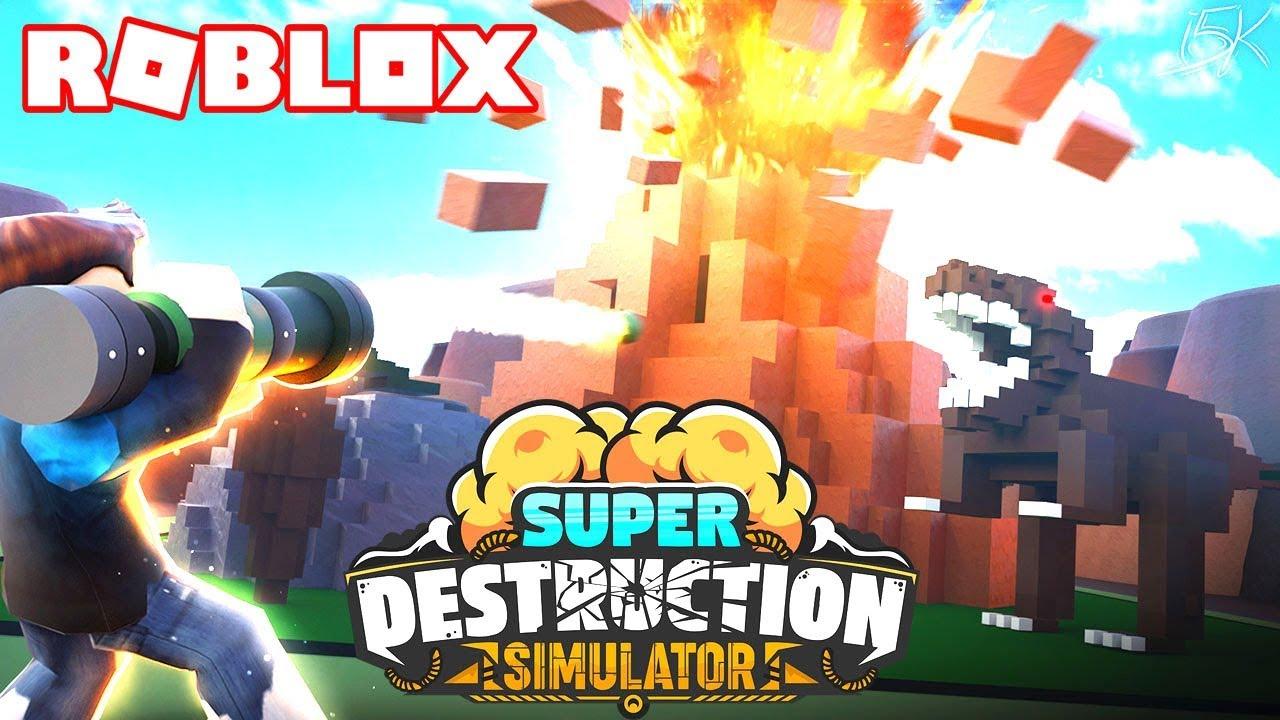 Roblox Simulator Destruction