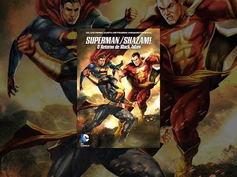 Superman/Shazam!: O Retorno De Black Adam (Dublado)