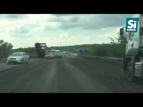 Ремонт на трасі Київ-Чоп біля Ужгорода
