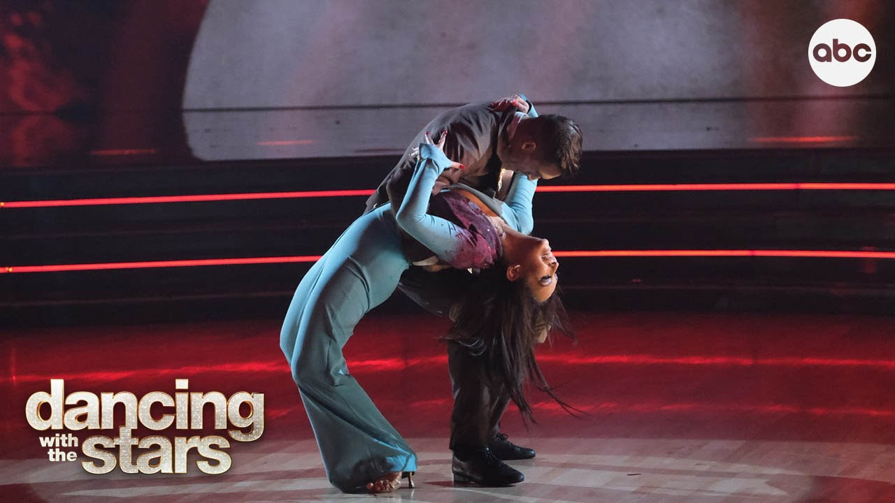 """Cody Rigsby's Cha Cha – Dancing with the Stars - Dancing With The Stars : Cody Rigsby and Cheryl Burke dance the Cha Cha to """"There Will Be Blood"""" by Kim Petras on Dancing with the Stars Horror Night!Subscribe: http://goo.gl/T7bg3NW...  