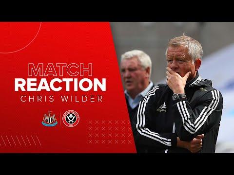 Chris Wilder Post match reaction interview | Newcastle United v Sheffield United