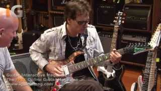 Steve Vai Weeping China Doll & The Story Of Light Guitar Riffs - Interview 2012 Guitar Interactive