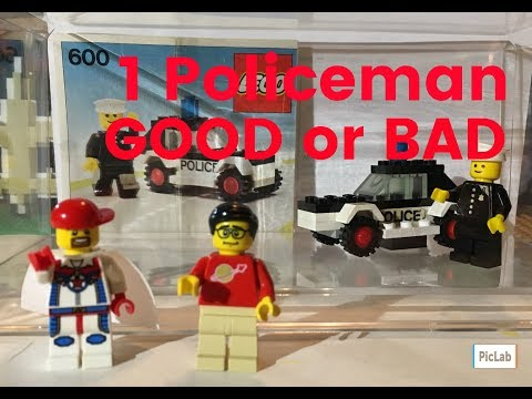 LEGO Good or Bad Rare Policeman CMF Series 18 You Decide