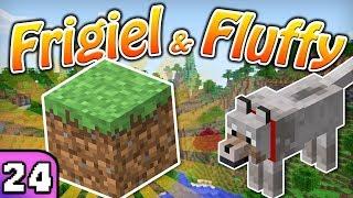 FRIGIEL & FLUFFY : LE BLOC D'HERBE | Minecraft - S5 Ep.24