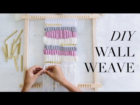 DIY Wall Weave