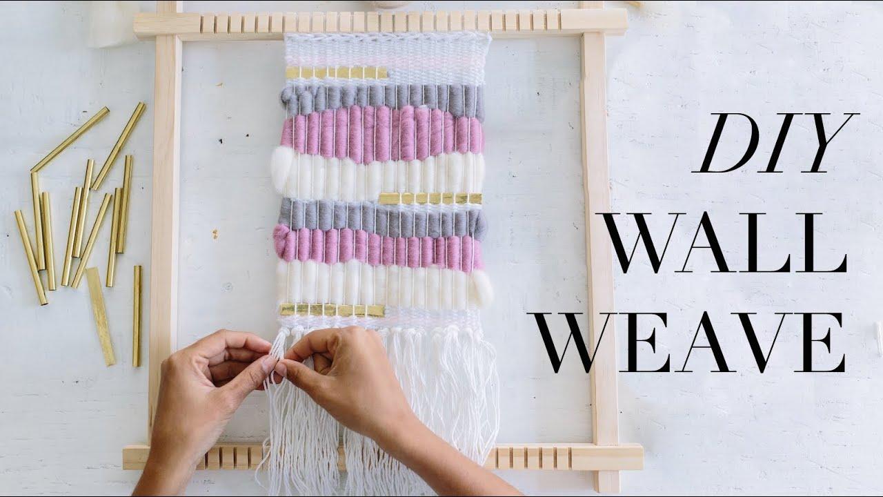 DIY Wall Weave - YouTube