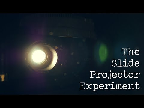 The Slide Projector Experiment (ASMR / Nostalgia / White Noise)