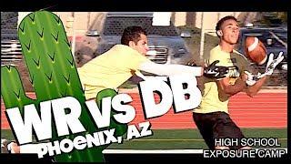 UTR Exposure Camp | High School (Phoenix, AZ) 1-ON-1 🔥🔥 WRs vs DBs | ACTION PACKED Highlight Mix