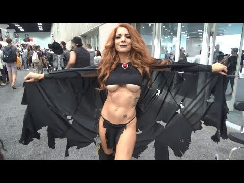 Los Angeles Comic Con 2017 Part 2 Cosplay Music Video