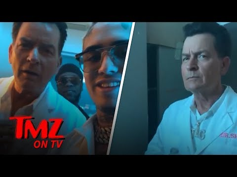 Lil Pump and Charlie Sheen Team Up!  TMZ TV