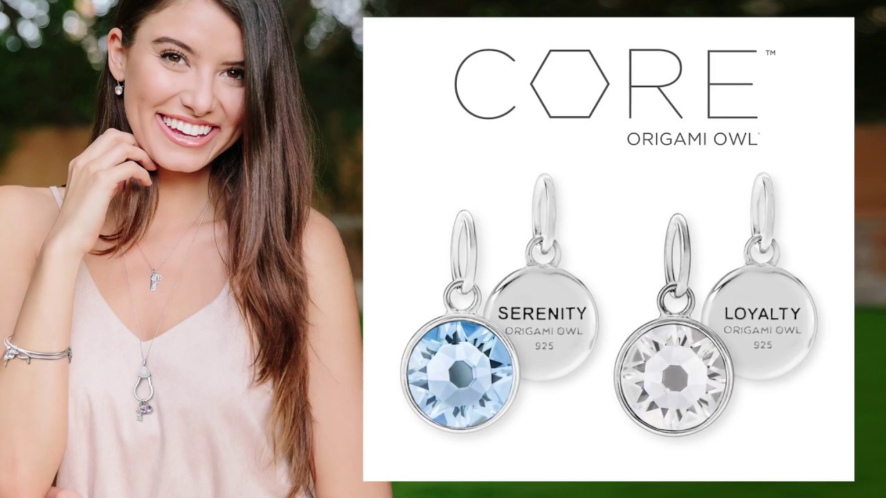 Origami Owl Gifting 2017 Collection Core Birthstones Youtube