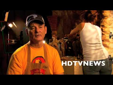 FANTASTIC MR FOX - BILL MURRAY INTERVIEW -THE BADGER& GEORGE CLOONEY AT WORLD PREMIERE